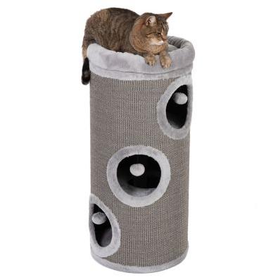 barriles rascadores para gatos
